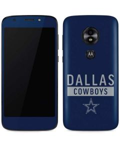 Dallas Cowboys Blue Performance Series Moto E5 Play Skin