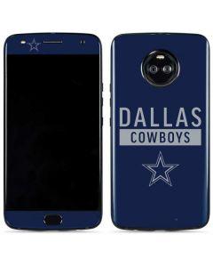 Dallas Cowboys Blue Performance Series Moto X4 Skin