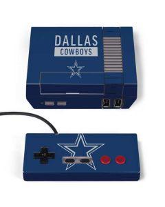 Dallas Cowboys Blue Performance Series NES Classic Edition Skin