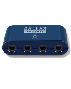 Dallas Cowboys Blue Performance Series Nintendo GameCube Controller Adapter Skin
