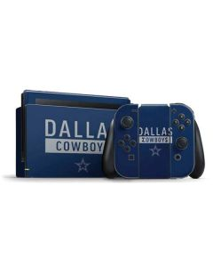 Dallas Cowboys Blue Performance Series Nintendo Switch Bundle Skin
