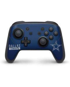 Dallas Cowboys Blue Performance Series Nintendo Switch Pro Controller Skin
