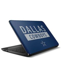 Dallas Cowboys Blue Performance Series HP Notebook Skin