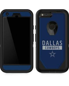 Dallas Cowboys Blue Performance Series Otterbox Defender Pixel Skin