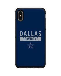 Dallas Cowboys Blue Performance Series Otterbox Symmetry iPhone Skin