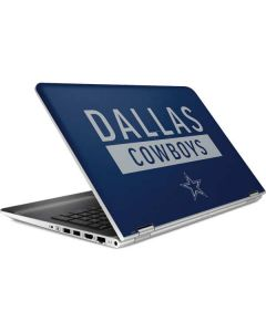 Dallas Cowboys Blue Performance Series HP Pavilion Skin