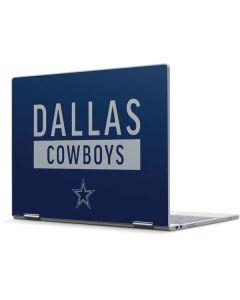 Dallas Cowboys Blue Performance Series Pixelbook Skin