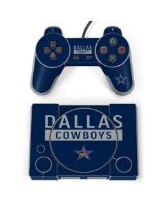 Dallas Cowboys Blue Performance Series PlayStation Classic Bundle Skin