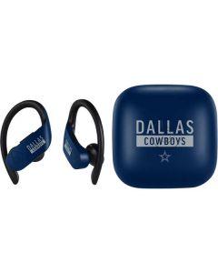 Dallas Cowboys Blue Performance Series PowerBeats Pro Skin