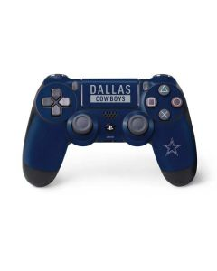 Dallas Cowboys Blue Performance Series PS4 Controller Skin