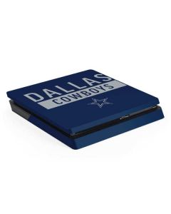 Dallas Cowboys Blue Performance Series PS4 Slim Skin