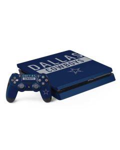 Dallas Cowboys Blue Performance Series PS4 Slim Bundle Skin