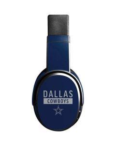 Dallas Cowboys Blue Performance Series Skullcandy Crusher Wireless Skin