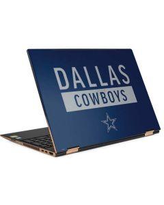 Dallas Cowboys Blue Performance Series HP Spectre Skin