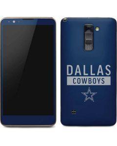 Dallas Cowboys Blue Performance Series Stylo 2 Skin