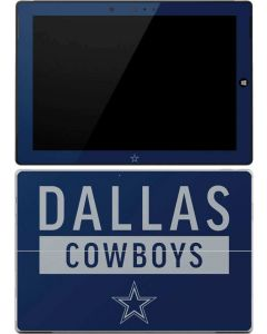 Dallas Cowboys Blue Performance Series Surface 3 Skin