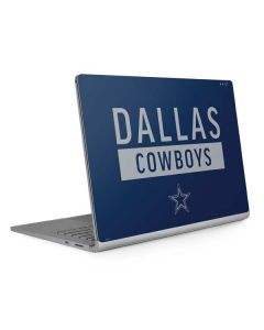 Dallas Cowboys Blue Performance Series Surface Book 2 13.5in Skin