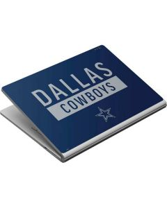 Dallas Cowboys Blue Performance Series Surface Book Skin