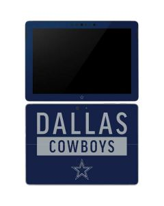 Dallas Cowboys Blue Performance Series Surface Go Skin