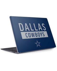 Dallas Cowboys Blue Performance Series Surface Laptop 2 Skin
