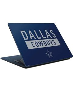 Dallas Cowboys Blue Performance Series Surface Laptop Skin