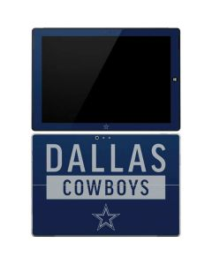 Dallas Cowboys Blue Performance Series Surface Pro 3 Skin