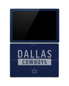 Dallas Cowboys Blue Performance Series Surface Pro 4 Skin