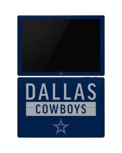 Dallas Cowboys Blue Performance Series Surface Pro 6 Skin