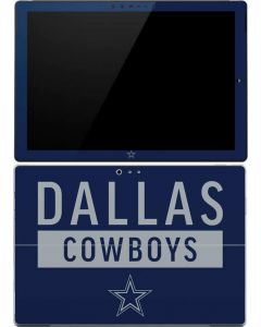 Dallas Cowboys Blue Performance Series Surface Pro (2017) Skin