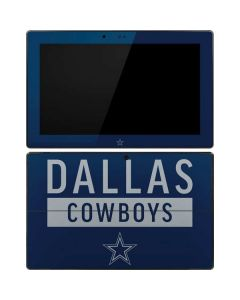Dallas Cowboys Blue Performance Series Surface Pro Tablet Skin