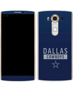 Dallas Cowboys Blue Performance Series V10 Skin