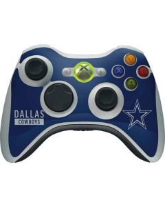 Dallas Cowboys Blue Performance Series Xbox 360 Wireless Controller Skin