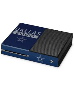 Dallas Cowboys Blue Performance Series Xbox One Console Skin
