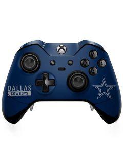 Dallas Cowboys Blue Performance Series Xbox One Elite Controller Skin