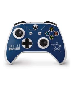 Dallas Cowboys Blue Performance Series Xbox One S Controller Skin