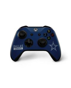 Dallas Cowboys Blue Performance Series Xbox One X Controller Skin