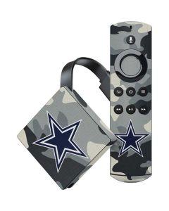 Dallas Cowboys Camo Amazon Fire TV Skin