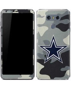Dallas Cowboys Camo LG G6 Skin