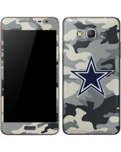 Dallas Cowboys Camo Galaxy Grand Prime Skin