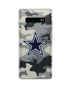 Dallas Cowboys Camo Galaxy S10 Plus Skin