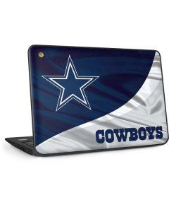 Dallas Cowboys HP Chromebook Skin