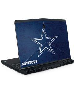 Dallas Cowboys Distressed Dell Alienware Skin