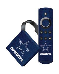 Dallas Cowboys Distressed Amazon Fire TV Skin