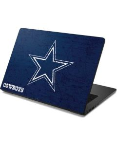 Dallas Cowboys Distressed Dell Chromebook Skin