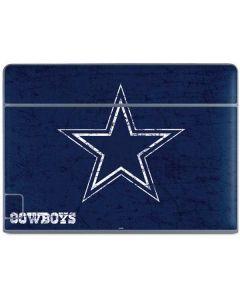 Dallas Cowboys Distressed Galaxy Book Keyboard Folio 10.6in Skin