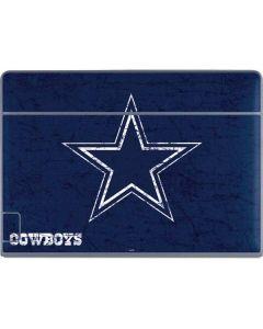 Dallas Cowboys Distressed Galaxy Book Keyboard Folio 12in Skin