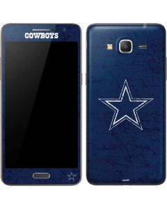 Dallas Cowboys Distressed Galaxy Grand Prime Skin
