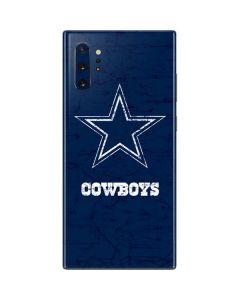 Dallas Cowboys Distressed Galaxy Note 10 Plus Skin