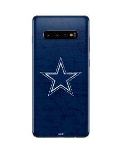 Dallas Cowboys Distressed Galaxy S10 Plus Skin