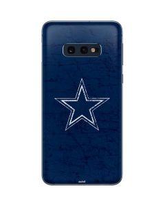Dallas Cowboys Distressed Galaxy S10e Skin